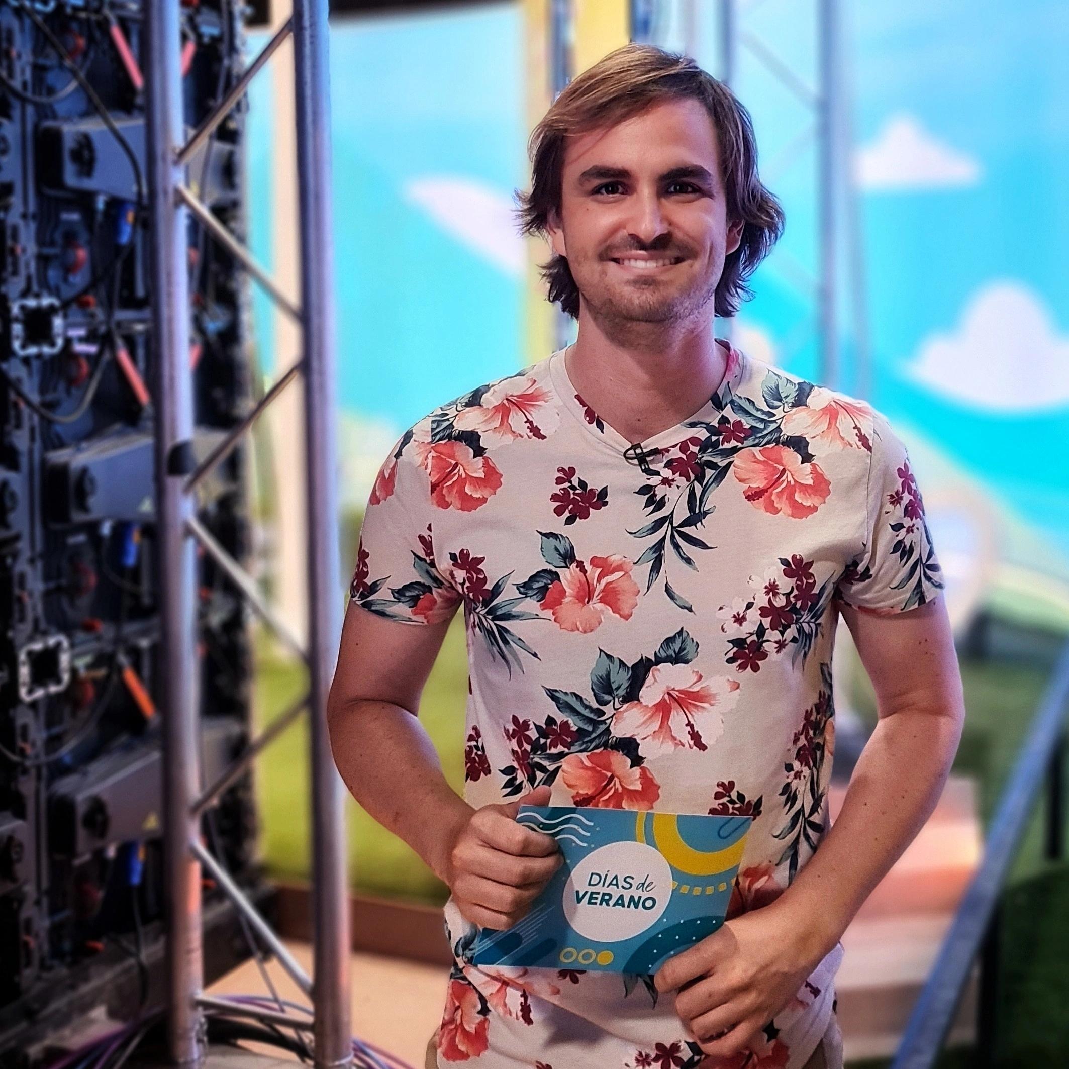 Fede Arias en Días de Verano en La 1 de RTVE